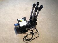 Stuart Turner Jet Force 75 Newteam Twin shower pump 3.5 bar