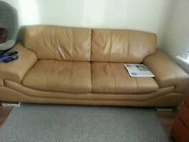 Yellow sofa for sale