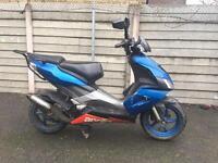 80cc reg as 50cc aprilia moped scooter Piaggio Vespa Honda gilera zip