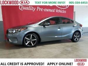 2017 Kia Forte EX Luxury - LEATHER, SUNROOF, LOADED!!!