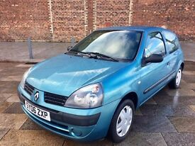 2006 RENAULT CLIO ++ IMMACULATE ++ VERY LOW MILES ++ CD ++ FULL MOT.
