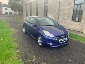image for Peugeot 208 Active 1.2 Petrol Full Service History Cheap Tax