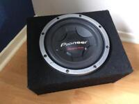 "Pioneer TSW307D2 12"" Subwoofer + Box"