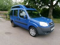 FIAT DOBLO WHEELCHAIR ADAPTED