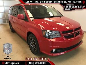 Used 2015 Dodge Grand Caravan-One Owner,DVD,Leather