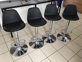 4 back bar stools