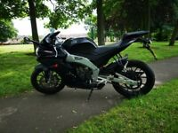 APRILIA RS 125 RS4 2015 very low miles road legal