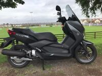 2016 YAMAHA XMAX 125 MINT TOP OF THE RANGE YAMAHA SCOOTER FINANCE AVAILABLE OVER £4000 NEW £2699