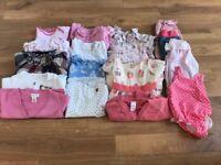 Girls 6-9 months bundle, Next, M&S