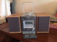 Panasonic CD Player / Radio / Cassette with speakers