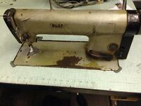 sewing machine industrial pfaff flat bed