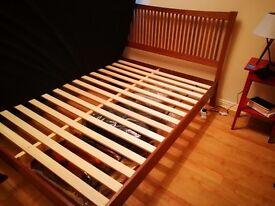 King size Bed (plus mattress)
