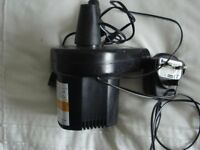 rechargable air pump