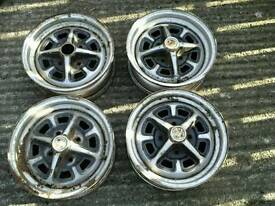 MGB AND MGB GT WHEELS SET OF 4