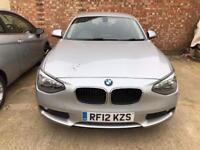 BARGAIN 1SERIES BMW NEW SHAPE YEAR MOT LOW TAX 25£ YEAR
