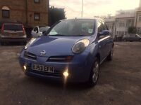 NISSAN MICRA 1.4 SVE 5 DOOR FULL AUTOMATIC VERY LOW MILEAGE HPI CLEAR DRIVES VERY GOOD NO FAULT!