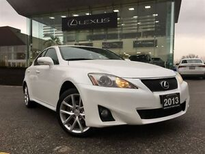 2013 Lexus IS 250 Leather/Moonroof and Navi Pkg AWD Back Up Cam