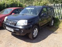 2005.55.NISSAN X-TRAIL SVE DCI 2.2 TURBO DIESEL ESTATE 4X4