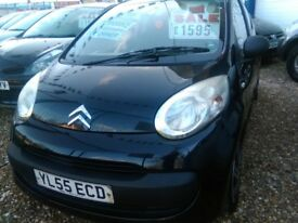 2006 Citroen c1 998 cc petrol very tidy car inside and out only £20 road tax full history full mot