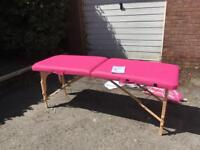 Massage Table in Pink