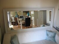 Large / Long Hall or Floor Standing Mirror - Frame professionally painted in Farrow & Ball