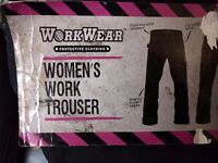 Workwear Womens Work Trousers Size Medium