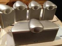 Tannoy EFX 5.1 Home cinema speakers