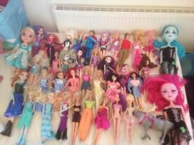 Big bundle of dolls