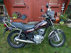 Nice Yamaha SR125 1997 great learner or winter motorcycle