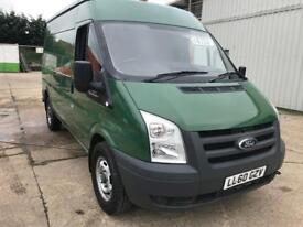 2011 Ford transit t350 2.4 tdci 100ps, MWB, SHR, Only one owner from new!