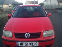 2001 VW Polo 3 door hatchback