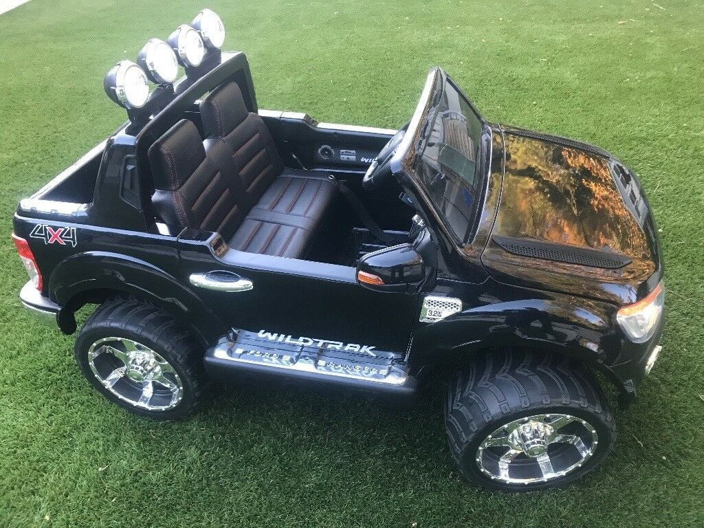 Two Seat Electric Kids Car Ford Ranger 5mph Excellent Condition