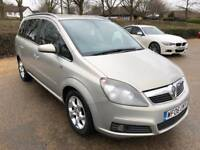Vauxhall Zafira 1.8 Design, 7 Seater, 3 Months Warranty, Just Serviced, Long MOT,