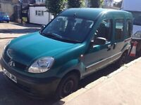 Renault Kangoo Wheelchair car disabled accessible vehicle 1.2cc very low Mileage 38831year MOT