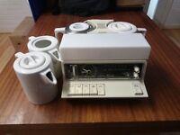 Retro Vintage Goblin Radio Teasmade Model 870 - Great Condition - Working