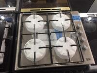 NEW-NEW** Beko *4 burner Gas Hob* Stainless steel AND WARRANTY INCLUDED *SALE ON*