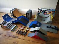 Tech deck skateboards and ramps bundle