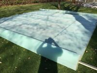 Solar Swimming Pool Cover 16ft x 32ft Geobubble Sol+Guard Retails around £300