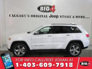 """2015 Jeep Grand Cherokee LIMITED, 20"""" wheels, leather seats"""