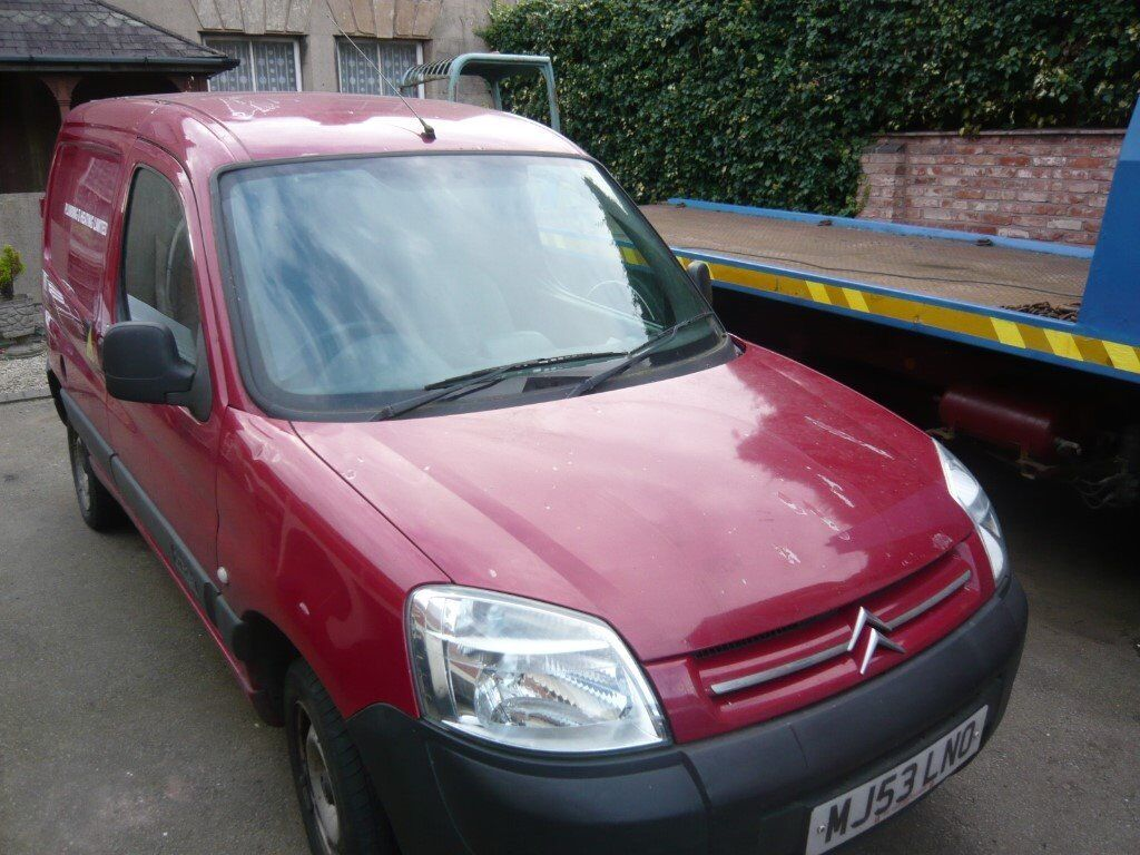 citroen berlingo 600d 53 reg short mot