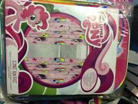 My little pony full room decoration clothes and toys