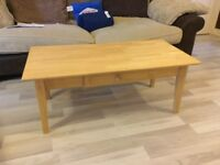 John Lewis coffee table with drawer