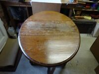 Small 2 Leaf wooden Table