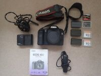 Canon DSLR EOS40D body plus ancillary kit