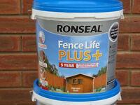 Ronseal Fence Life PLUS+ 9 litre