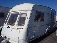 Touring caravan can royce two berth reduced
