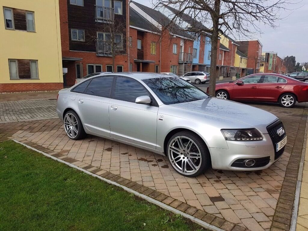 audi a6 c6 2010 s line bodykit in kings lynn norfolk. Black Bedroom Furniture Sets. Home Design Ideas