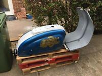 Lambretta Series 2 project 1960