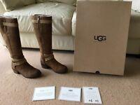 UGG Darcie Riding Boots Chestnut size UK3.5 / EU36