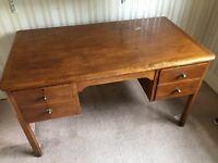 Solid Wood Office Desk For Sale